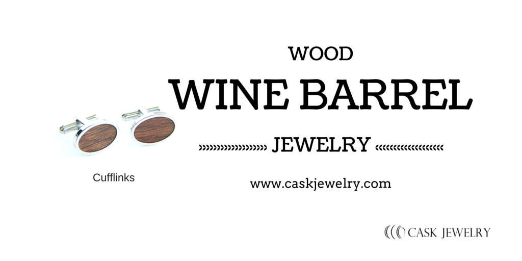 Wine Barrel Cufflinks