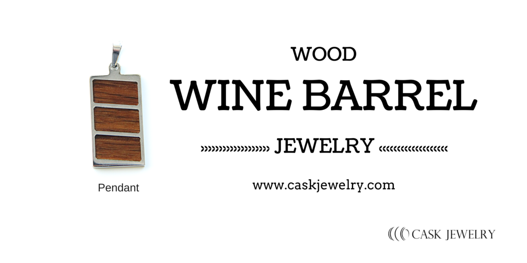 Wine Barrel Pendant