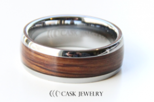 Men's Wine Barrel Ring