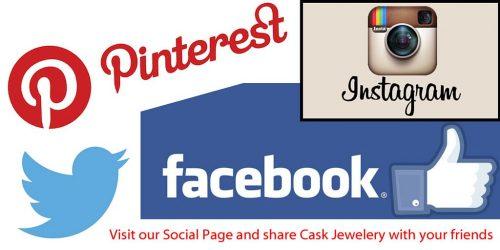 social media logos withcta