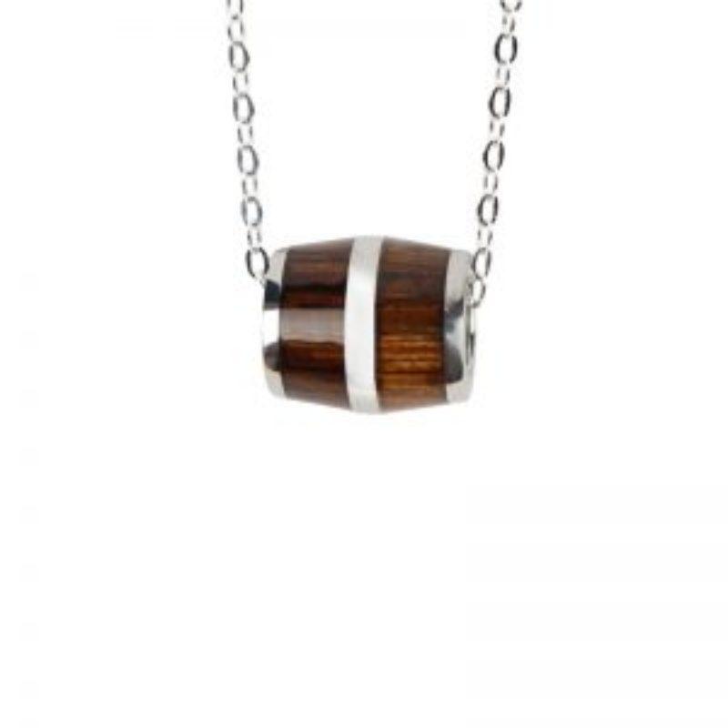 Wine Barrel Jewelry Necklace Pendant