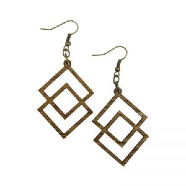 Wine Jewelry Geometric Earrings