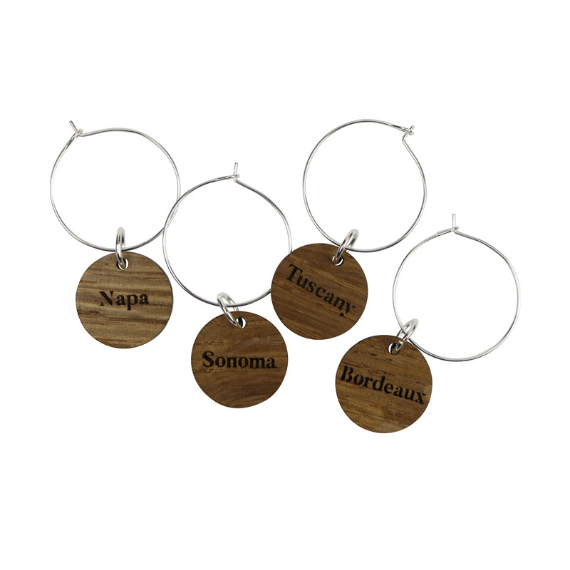 Wine Charms - Napa, Sonoma, Tuscany, Bordeaux