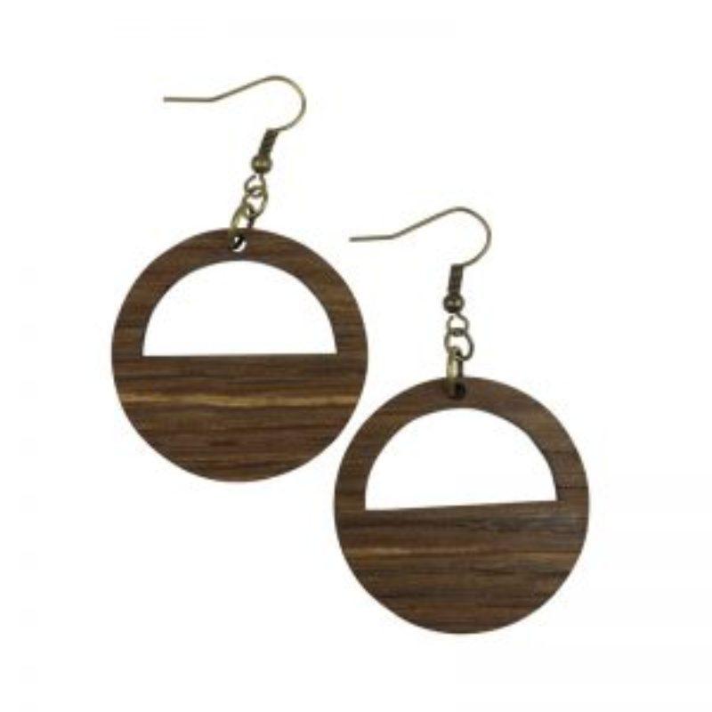 Wine Barrel Earrings Large dangle