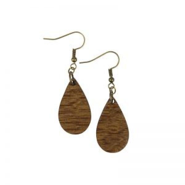 Wine Barrel drop earrings