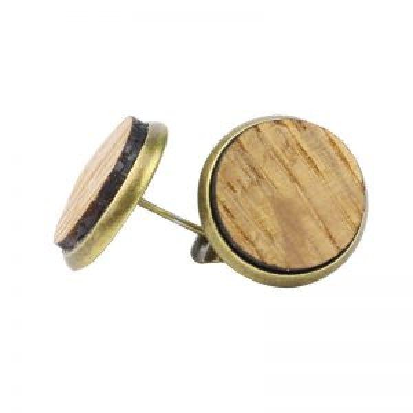 Wine Barrel Stud Earrings